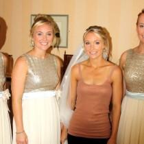Abbi and bridesmaids