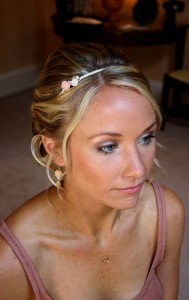 Bride Abbi makeup