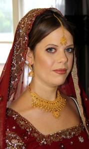 Sara Indian makeup