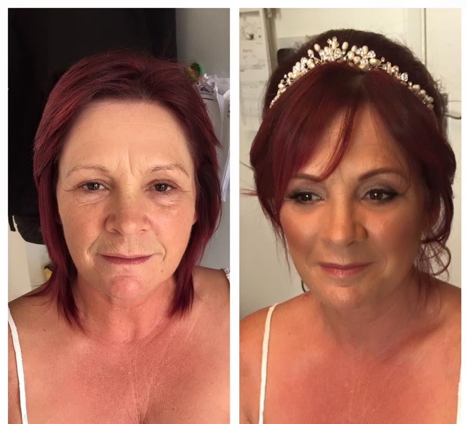 Mature bridal makeup