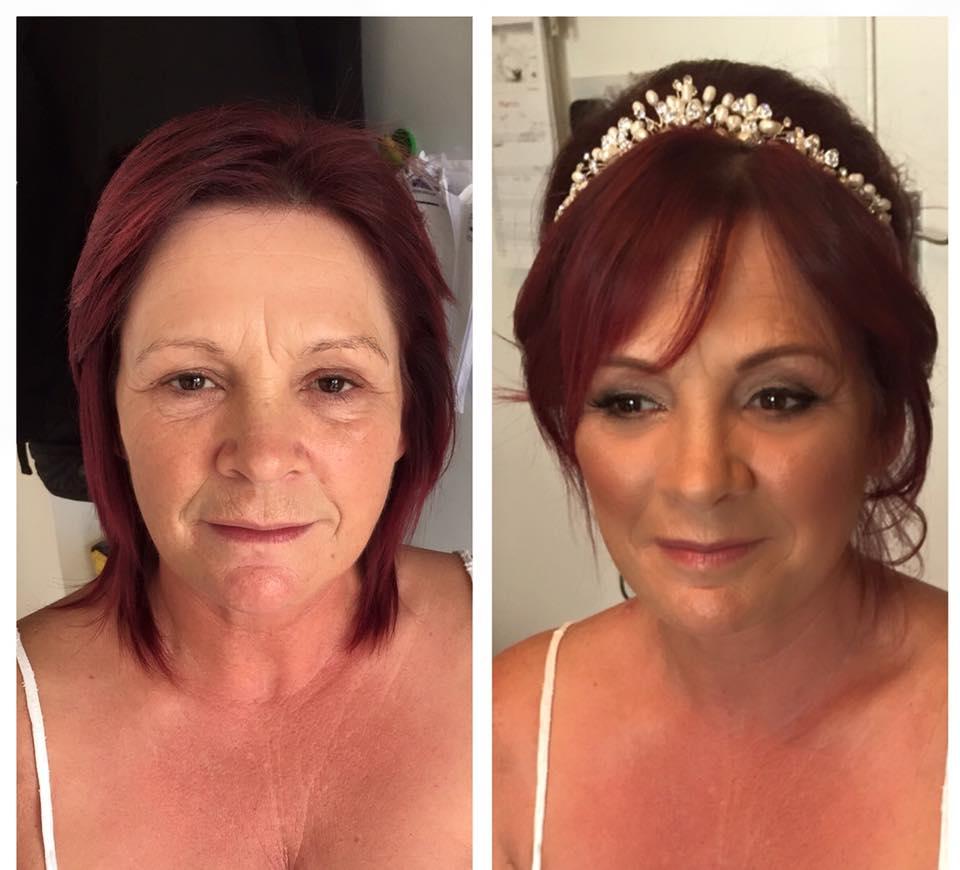 Wedding makeup for mature brides